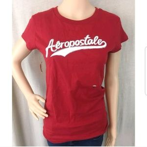 Aeropostale S/S Tee Top Red L